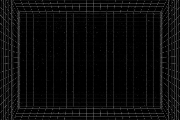3d-drahtgitter-gitterraumhintergrund