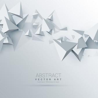 3d dreiecke abstrakten hintergrund