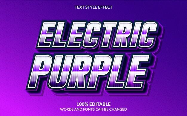 3d-effekt im modernen textstil mit lila farbe