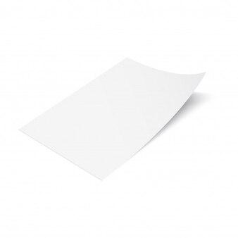 3D Flyer Papier Mock-up-Design