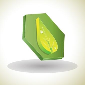 3d frischen logo zeichen