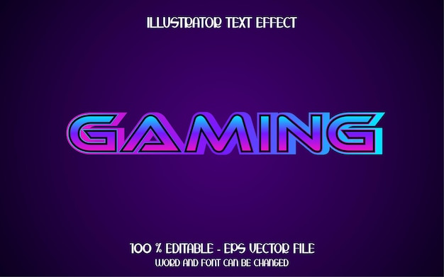 3d-gaming-texteffekt
