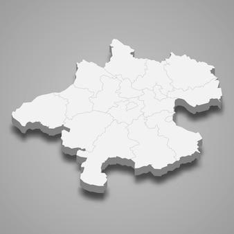 3d-kartenstaat österreich
