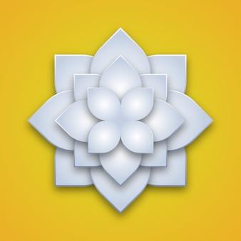 3d lotusblume