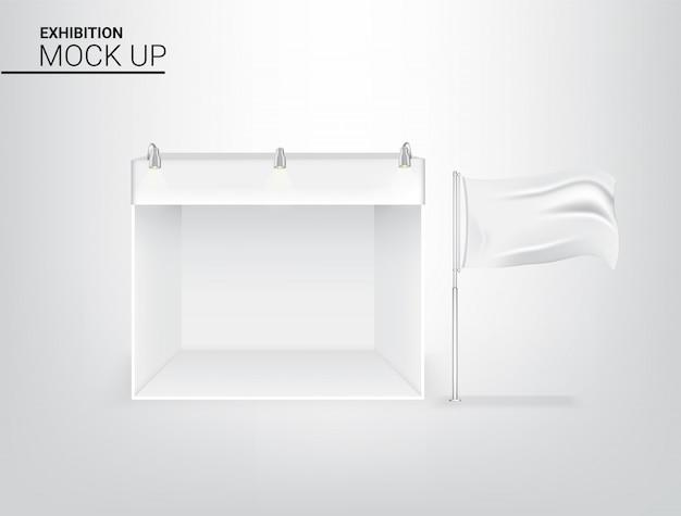 3d realistische zelt display pop booth
