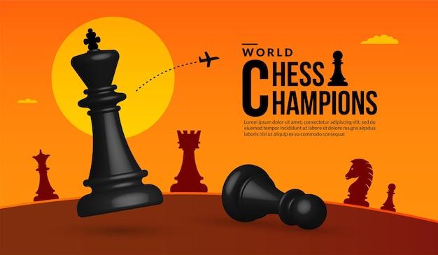 3d-schachkampf-wettbewerbskonzept der geschäftsstrategie und -verwaltung