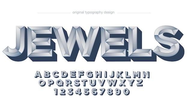 3d-silberbarren-effekt-typografie