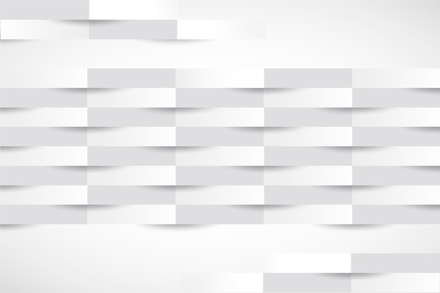 3d streift hintergrund in der papierart