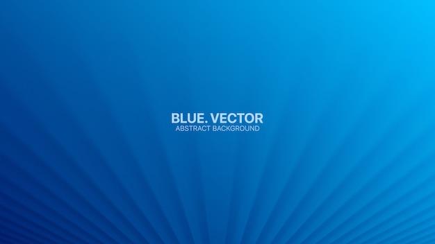 3d verschwommene perspektivlinien blauer abstrakter hintergrund