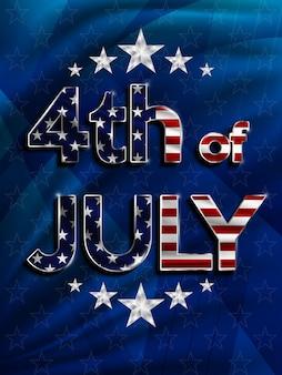 4. juli amerikanischer unabhängigkeitstag