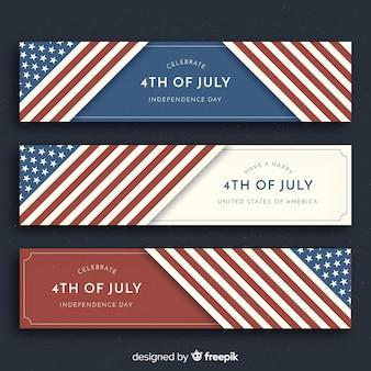 4. juli banner