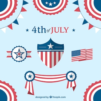 4. juli dekoration