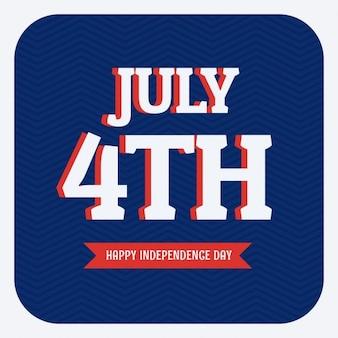 4. juli glücklich tag der unabhängigkeit