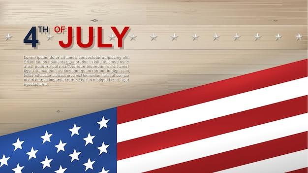 4. juli hintergrund.