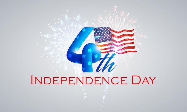 4. juli - unabhängigkeitstag hintergrund
