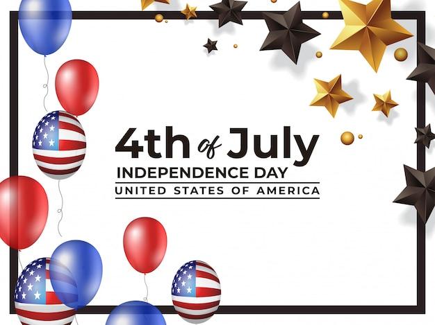 4. juli unabhängigkeitstag vereinigte staaten von amerika