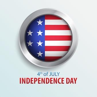 4. juli - unabhängigkeitstag von amerika