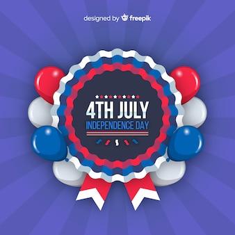 4. juli - unabhängigkeitstaghintergrund