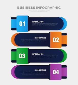 4-schritte-business-infografik-vorlage