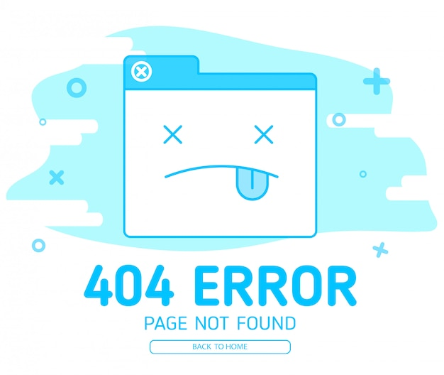 404 fehler mit icon tab wedsite fehler