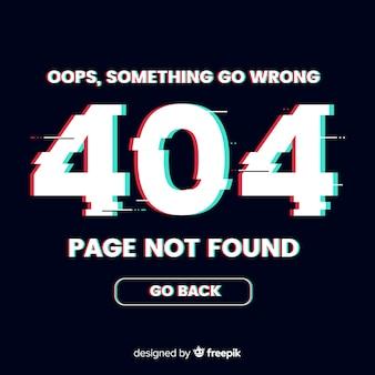 404 fehlerhintergrund