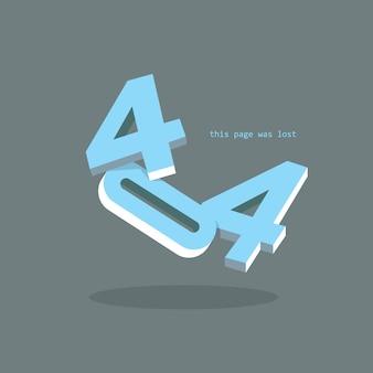 404 seite nicht gefunden konzept