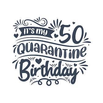 50 jahre geburtstag und 50 jahre jubiläum typografie-design, 50 ganze jahre großartig.