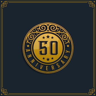 50. jahrestag feier geburtstag