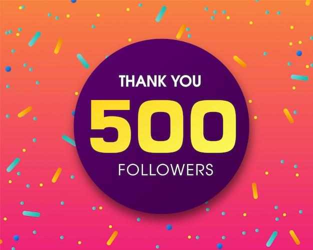 500 follower, vielen dank