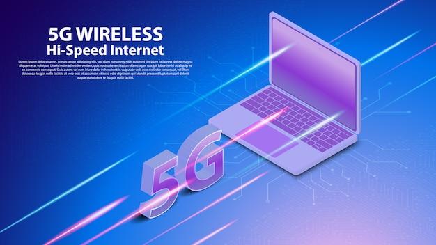 5g drahtlose netzwerktechnologie kommunikation