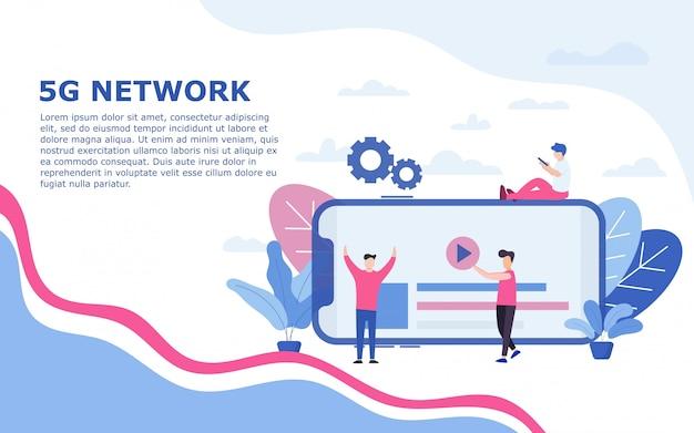 5g netzwerkvorlage