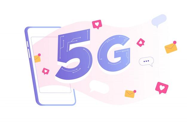 5g technologiekonzept