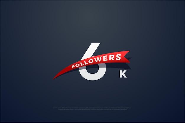 6k follower