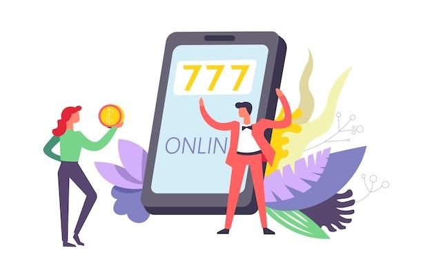 777 online-glücksspiele über das internet per telefon