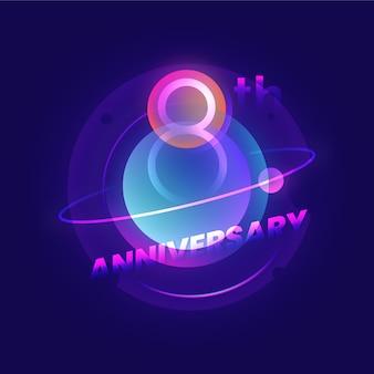 8 jähriges jubiläum