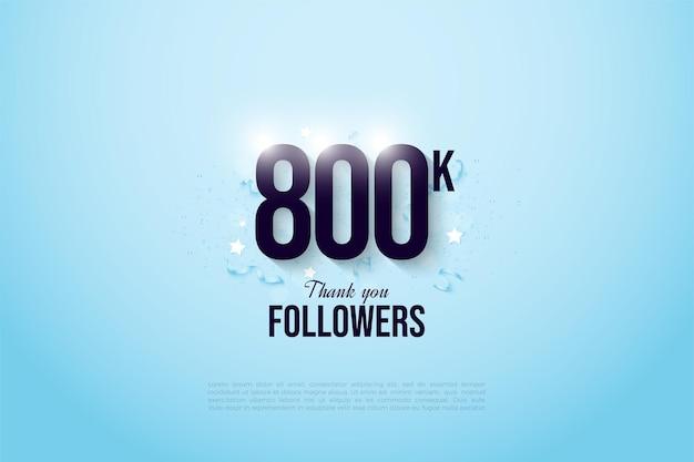 800.000 follower mit einem einfachen und charmanten design