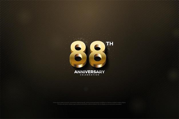 88. jubiläum mit goldener nummernausgabe