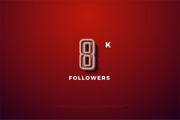 8k follower mit weicher nummer