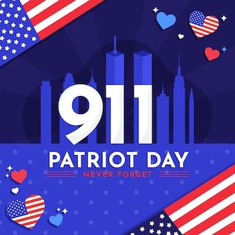 9.11 patriot tag abbildung