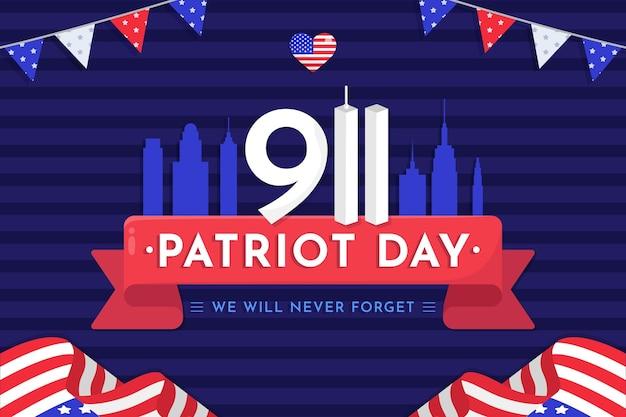 9.11 patriot tag hintergrund