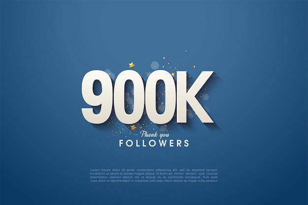 900.000 follower mit einem einfachen, ausgefallenen design