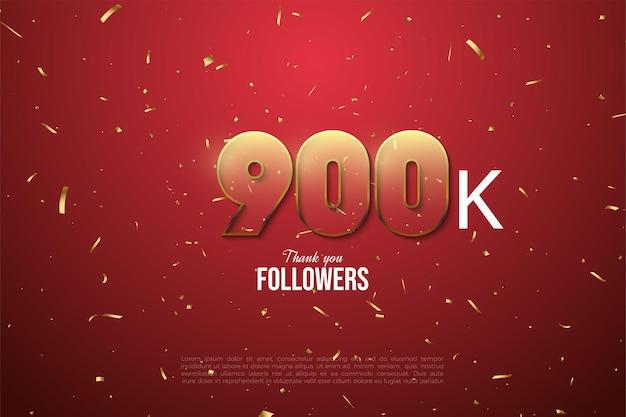 900.000 follower mit transparenten zahlen