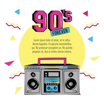 90er jahre für immer design