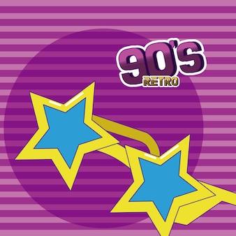 90er retro-cartoons