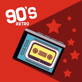 90er retro-cartoons