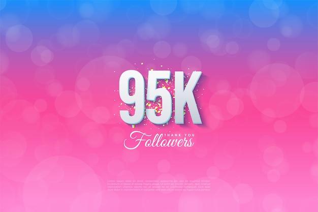 95k follower mit abstufungshintergrund