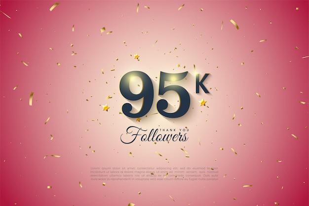 95k follower mit lichtgradient