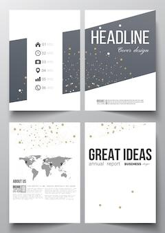 A4 vorlagen für broschüre, flyer