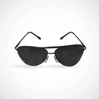 Abbildung der getrennten sonnenbrillen