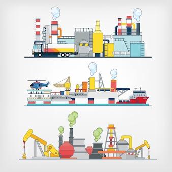 Abbildung der industrie